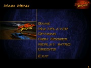 DIRT TRACK RACING title screen