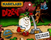 Dizzy Magicland title