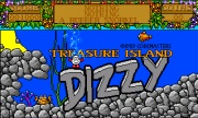 Dizzy Treasure Island title