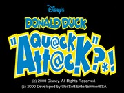 DISNEY S DONALD DUCK: GOIN  QUACKERS  title