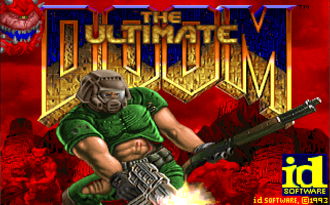 DOOM game title