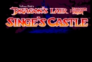 DRAGON`S LAIR - ESCAPE FROM SINGE`S CASTLE title