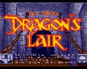 DRAGONS LAIR title screen