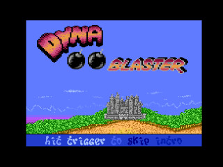DYNA BLASTER game title
