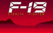 F19 Stealth Fighter title
