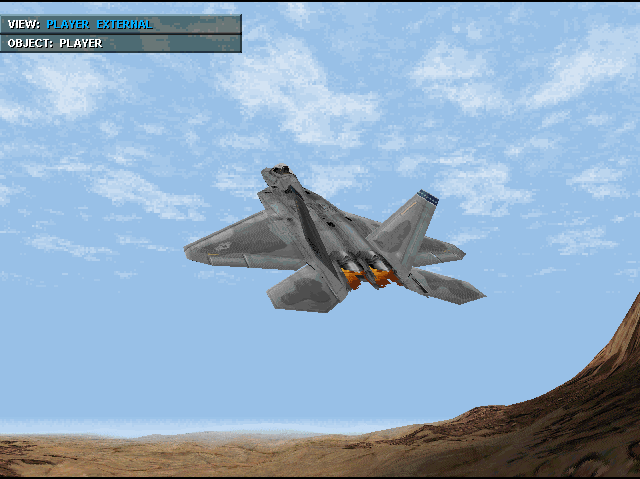 Simulation of the F-22 Raptur PC Rom Game iF-22 Vintage Old Collectible Magic 1992 *CP