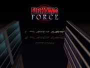 FIGHTING FORCE title screen