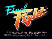 FINAL FIGHT title