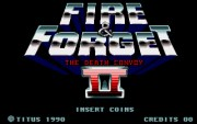 FIRE AND FORGET II title screen