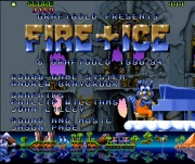 FIRE AND ICE title screen
