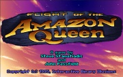 Flight of the Amazon Queen title