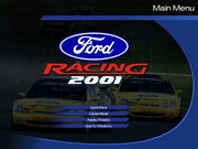 FORD RACING title screen