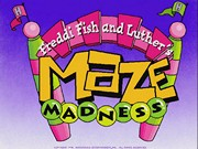 Freddi Fish and Luthers Maze Madness title