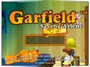 GARFIELD SAVING ARLENE title screen