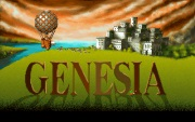 GENESIA title screen
