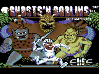 GHOSTS N GOBLINS title