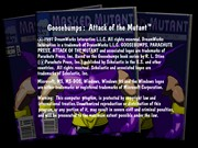Goosebumps Attack of the Mutant