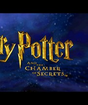 HARRY POTTER AND THE CHAMBER OF SECRETS title