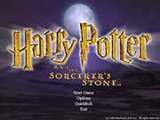 HARRY POTTER AND THE SORCERERS STONE title screen