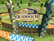 HARRY POTTER QUIDDITCH WORLD CUP title screen