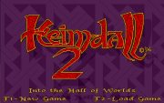 HEIMDALL 2:  INTO THE HALL WORLDS title