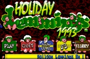 HOLIDAY LEMMINGS title