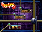 HOT WHEELS SLOT CAR RACING title screen