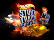 HOT WHEELS STUNT TRACK CHALLENGE title screen
