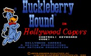 Huckleberry Hound in Hollywood Capers title