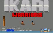 Ikari Warriors title