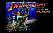 INDIANA JONES AND THE FATE OF ATLANTIS: THE ACTION GAME title