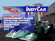 INDYCAR RACING II title screen