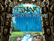 Ishar Legend of the Fortress title