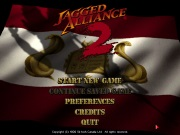 JAGGED ALLIANCE 2 title screen