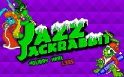 Jazz Jackrabbit Holiday Hare title