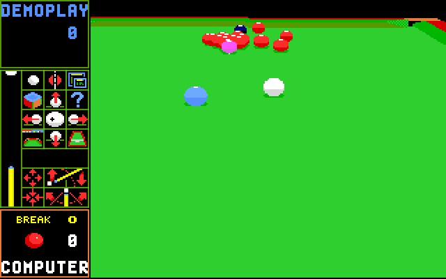 JIMMY WHITE'S 'WHIRLWIND' SNOOKER