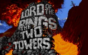 JRR TOLKIENS LORD OF THE RINGS VOL II THE TWO TOWERS title screen