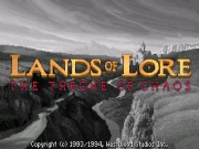 LANDS OF LORE: THE THRONE OF CHAOS title