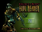 LEGACY OF KAIN SOUL REAVER title screen