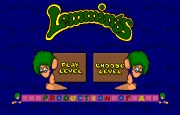 Lemmings Oh No More Lemmings title