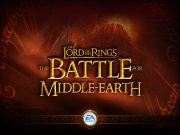 LORD OF THE RINGS BATTLE FOR MIDDLE EARTH game title