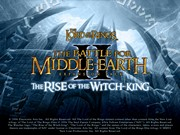 Lord of the Rings The Battle for Middle earth II The Rise of the Witch King