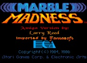Marble Madness title