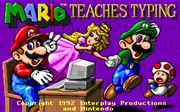 Mario Teaches Typing title
