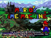 MARIO S TIME MACHINE title