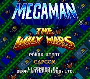 Mega Man The Wily Wars title