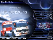 MERCEDES BENZ TRUCK RACING title screen