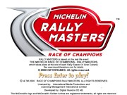 MICHELIN RALLY: MASTERS RACE OF CHAMPIONS title