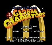 MICK & MACK AS THE GLOBAL GLADIATORS title