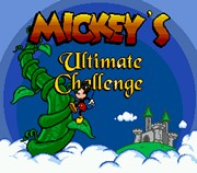 Mickeys Ultimate Challenge title